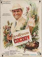 Le GENTLEMAN DE COCODY French moyenne movie poster JEAN MARAIS 1964