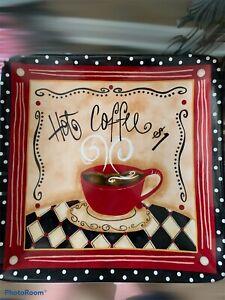 Nostalgic Coffee Plate Hobby Lobby