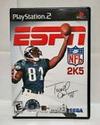 ESPN NFL 2K5 for PlayStation 2 complete with manual