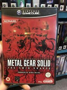 Metal Gear Solid: The Twin Snakes - GameCube - PAL
