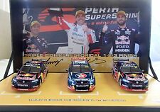 1:43 Red Bull Racing Triple set 1-2-3 finish 2016 Lowndes Giz Whincup BNIB