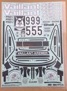 Tamiya 49400 Porsche 934 Vaillant (9494097/19494097) Decal/Sticker (NEW) NIP
