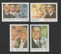 Australia 1995 : Medical Science, Set of 4 Decimal Stamps, MNH