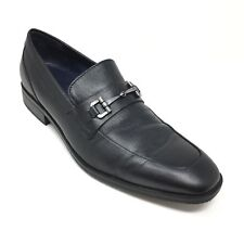 449e981ae29 Men s Cole Haan Martino Bit II Loafers Shoes Size 8.5M Black Leather  Horsebit S1