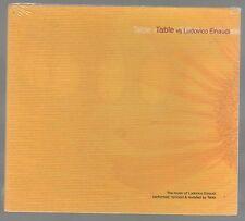 TABLE Vs. LUDOVICO EINAUDI  CD F.C. SIGILLATO!!!