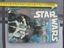 Star Wars Hardback First Edition Book by George Lucas 1976 Ballatine Books