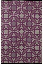 FabHabitat Outdoor Indoor Mats Rugs Australia SEVILLE Purple 150x238cm