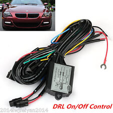 Universal LED Daytime Running Light Automatic ON/OFF Controller Module Box Relay