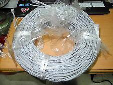 Twisted Western Electric KS13385 L-1 14 AWG cloth covered stranded wire