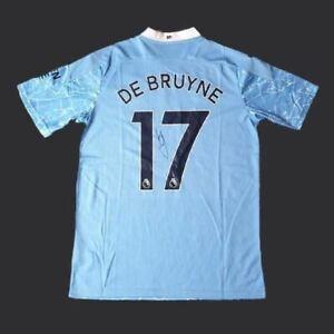 Kevin De Bruyne Signed Manchester City 20/21 Shirt