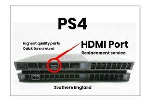 PS4 HDMI port replacement service NO fix NO fee