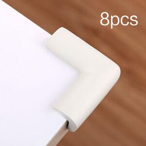 8PCS Child Baby Desk Table Corner Edge Protector Soft Safety Foam Cushion Guard