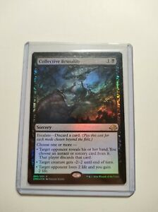 Magic the Gathering Set 4x Visions of Brutality Oath of the Gatewatch Near Mint