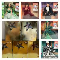 Hollywood Legends Collection Barbie, Lot 5,New 1994 NRFM VTG Barbie GWTW