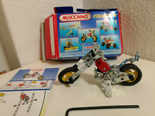 MECCANO Collection SET 2302 Complete Made in France Motorcycle Chopper