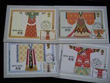 1987 Hong Kong Post Office Postcard Series No. 3 - Historical Chinese Costumes