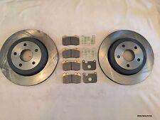 2 x Rear Brake Discs & Pads SET Grand Cherokee WK 05-2010 SRT-8 BRK/WK/019A