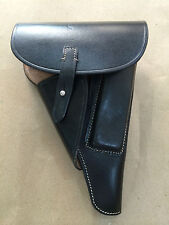 """GERMAN WWII P-38 P38 SOFTSHELL HOLSTER: BLACK (Repro) """"MARKED"""""""