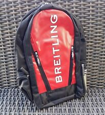 BREITLING weekend BAG backpack bagpack PILOT RED RARE item NEW IN PLASTIC