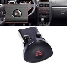 Black Emergency Hazard Lights Warning Switch Button 8200442723 Fit Renault Clio
