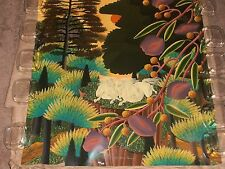 "Vintage Silkscreen Serigraph ""Colorful Worlds"" 312/375LE by Jose Carlos Ramos"