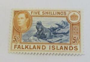 Falkland Islands 1938 KGVI 5s used