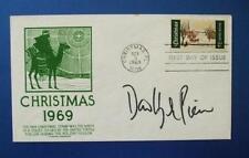 USA 1969 Natale FDC firmato da David Hyde Pierce [ Frasier ]