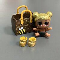 RARE ! LOL Surprise QUEEN BEE LIL Glitter FIGURE DOLL Authentic Poupées