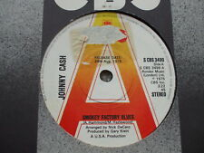 Johnny Cash Smokey Factory Blues / Clean Your Own Tables CBS 3499 DEMO / PROMO