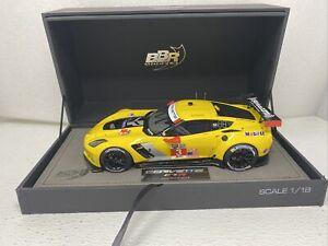 1/18 BBR 2014 Corvette C7R Long Beach Winner  Limited 150 Pc Part # P1896 READ