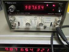 HP 5300a+5302a, frecuencia robusto sistema de contadores de hewlett packard!