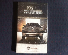 DODGE RAM 1500/2500/3500 - 2013 - Owner's Manual - IN FRENCH - SEALED - MINT