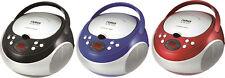 Naxa Portable CD Player with AM/FM Stereo Speaker Boombox Radio