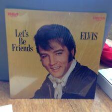 Vinyl Record Let's Be Friends Elvis Presley 1970
