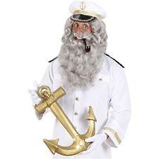 Maxi Beards - Grey Fake False Beards For Fancy Dress Costumes Outfits - Beard