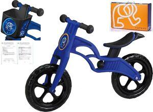POPBIKE Children Kids Learning Balance Bike 12 EN71 & CE Certified Safety BLUE
