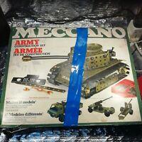 Vintage Meccano Army Construction Set