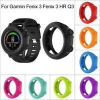 Silicone Protector Case Shell for Garmin Fenix 3 / HR Quatix 3  Smart Watch