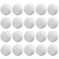 24PCS Plastic Golf Balls Useful Practice Training Aids for Kids Golfer