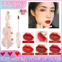 TVLV SOFT MIST VELVET AIR LIP GLAZE Violin Matt Lipstick Lip Glaze Moisturizing*