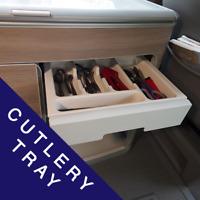Cutlery Tray For Camper Van, Motor Home, VW, Campervan/Conversion Van-X