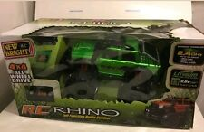 New Bright Full Function R/C Rhino 4x4~ Green RC Truck