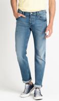 Mens Lee Daren regular waist slim leg stretch jeans 'Mid diamond' SECONDS L45