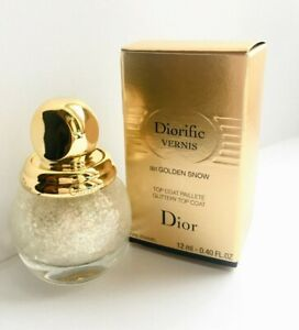 "DIOR DIORIFIC VERNIS 001 ""Golden Snow"" LIMITED EDITION Holiday 2020"