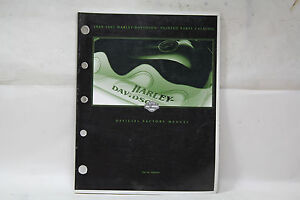 Harley 1989-2001 painted parts manual book 99489-01 FXR Softail Dyna FL EP20921