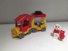 VINTAGE LEGO FABULAND SET 3641 CAR & CAMPER *100% COMPLETE*