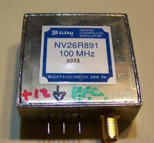 New fully tested Bliley 100MHz OCXO 12V EFC -141dB phase noise @ 2KHz O.S. SMA!