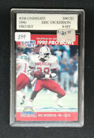 1990 Eric Dickerson Unissued NFL Pro Set Card - Rare