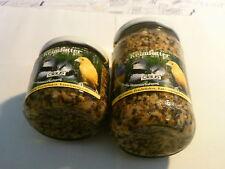 Claus Keimfutter für Kanarien, Exoten, Prachtfinken Waldvögel 210 ml im Glas