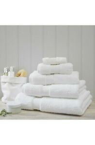 The White Company Luxury Egyptian Cotton 7 piece set, White